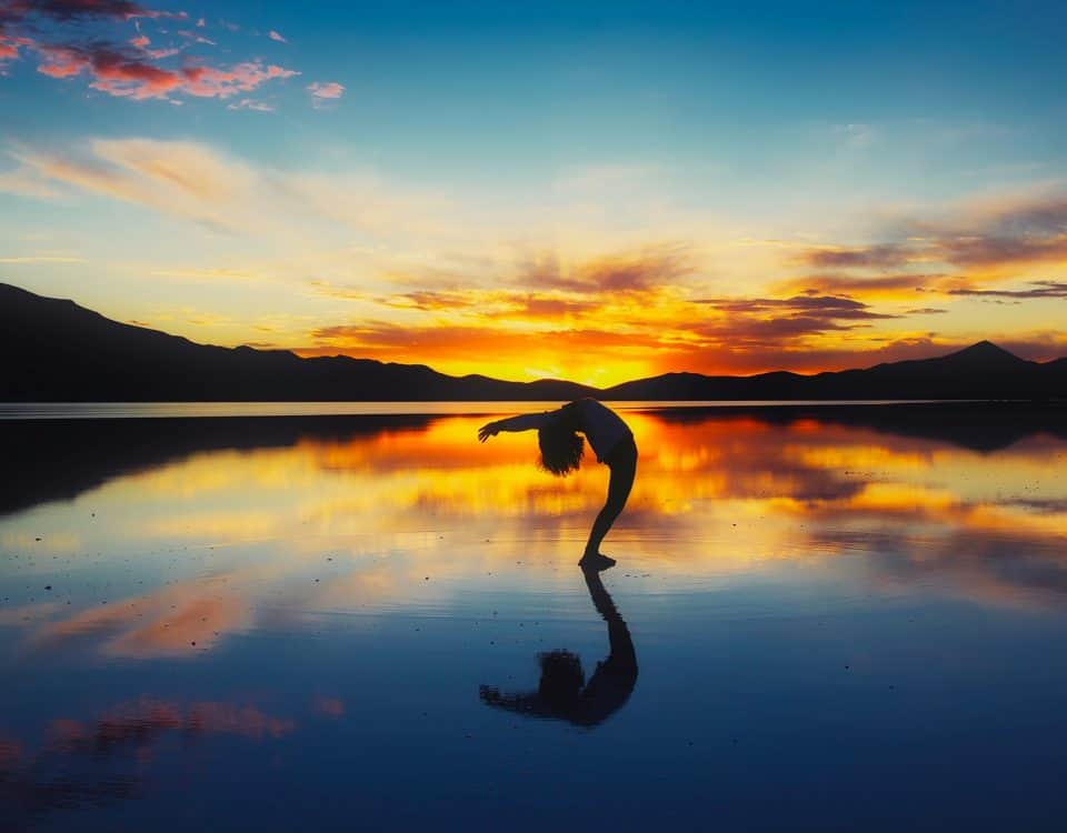 yoga om in slaap te vallen
