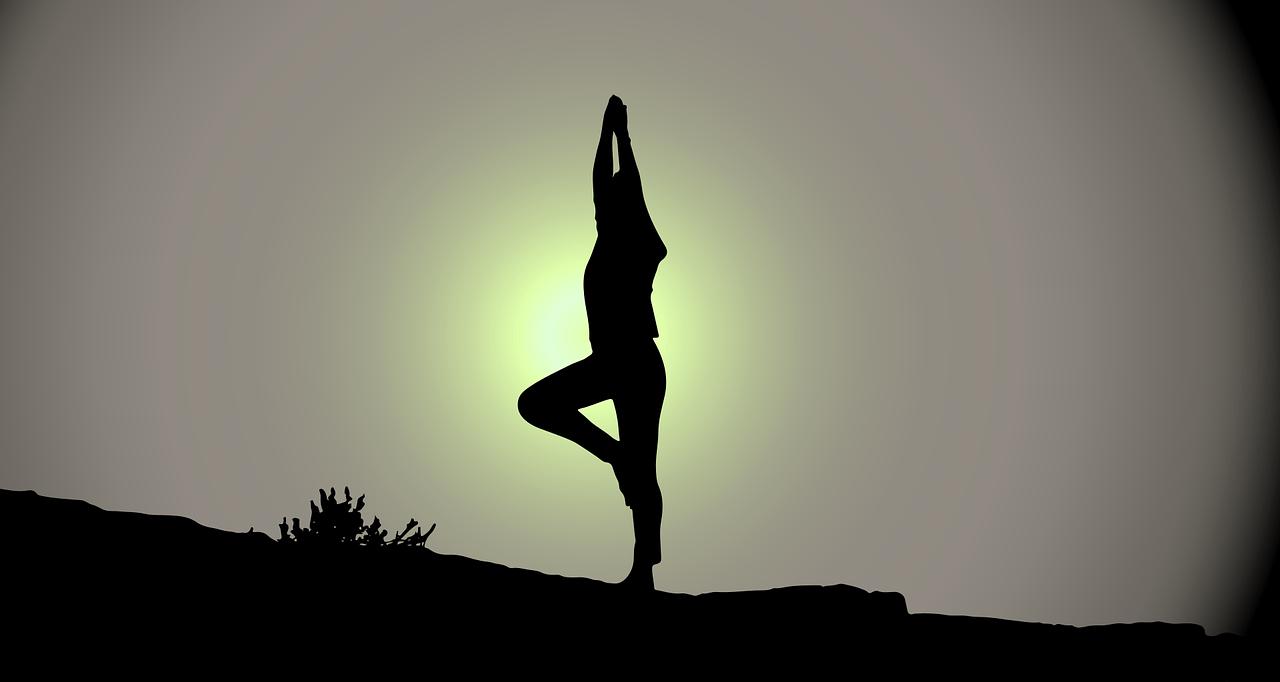 yoga oefeningen tegen slapeloosheid