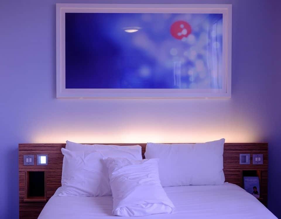 beste slaapkamer kleuren voor een goede nachtrust