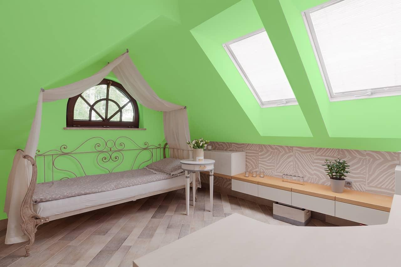slaapkamer kleuren: is groen een goede kleur voor in de slaapkamer?